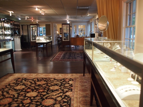 Interior picture of Krombholz Jewelers