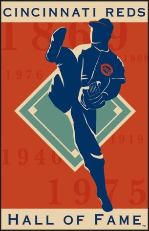 Cincinnati Reds Hall of Fame Logo