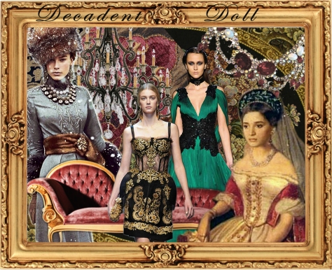 Decadent Doll Trend board from Accessories Magazine