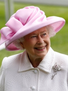 Queen-wearing-the-Williamson-Pink