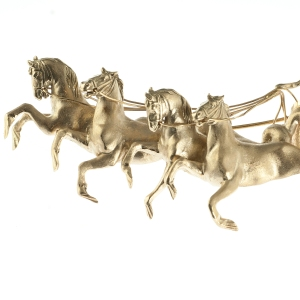 Ruven Perelman horses closeup