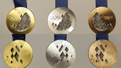 2014 Winter Olympic Medals